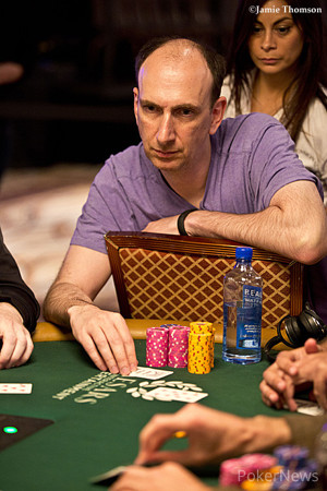 Erik Seidel is our chip leader for Day 3
