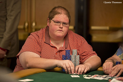 Chip Leader Jimmy Fricke
