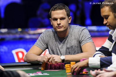 Matt O'Donnell appears poised to take down the bracelet.