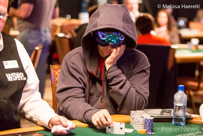 Phil Laak's two pair was good.