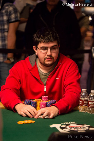 Chip Leader Steven Wolansky