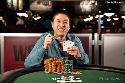 Event #35 champion Brian Yoon