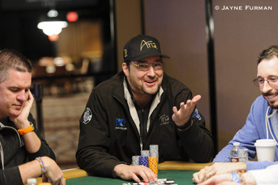 Phil Hellmuth is gone.