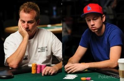 Richard Sklar (9th) & John Monnette (8th)
