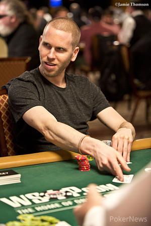 Jeff Madsen earlier this WSOP