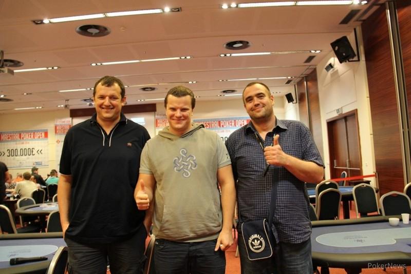 Finalisti Matijašević (2), Filin (1) i Kecman (3)