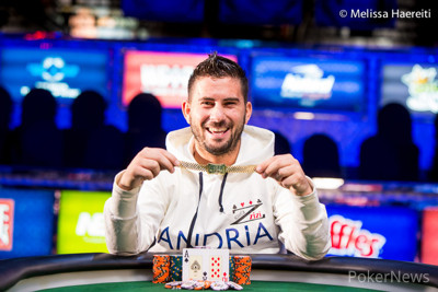 Heads-Up Champion Davide Suriano
