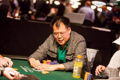 Bill Chen picked up aces.