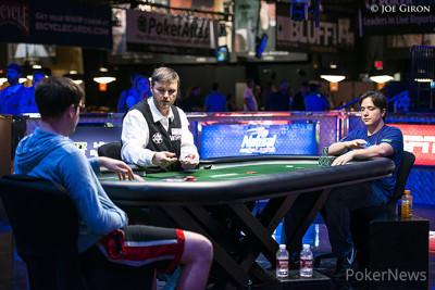 Evan McNiff and Jordan Morgan Heads Up