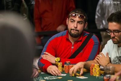 Simeon Naydenov hunts his second bracelet.