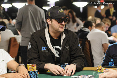 Phil Hellmuth, pictured in a different event.