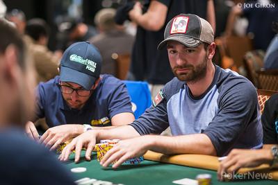 Chip Leader Michael Malm