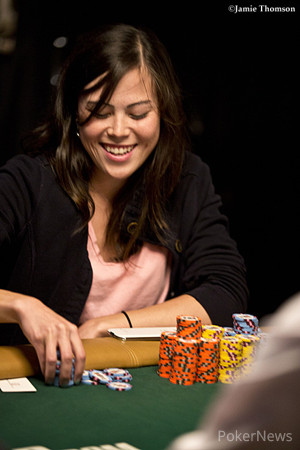Final Table Chip Leader - Mikiyo Aoki