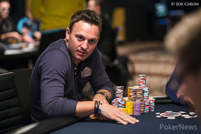 Sam Trickett Dominates Day 1