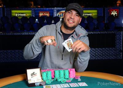 Daniel Idema, the last winner of the $10,000 Limit Hold'em Championship