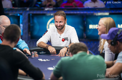 Daniel Negreanu during the Big One for One Drop