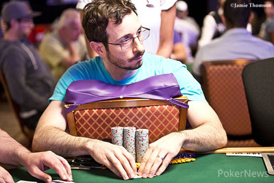 Brian Rast begins the day second in chips.