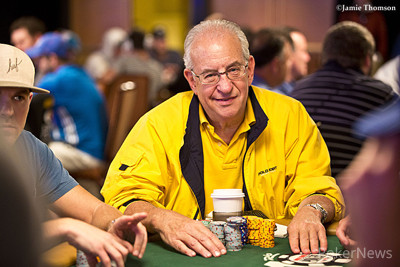 Marvin Rosen bagged the top stack after one 10 levels.