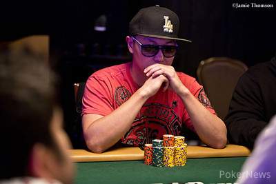 Day 2 Chip Leader Steve Sung