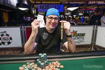 Jared Jaffee - Winner of Event #58 $1,500 Mixed-Max No-Limit Hold'em ($405,428)