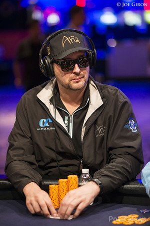 Phil Hellmuth, pictured in a previous event.