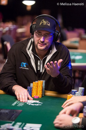 Phil Hellmuth in an earlier event