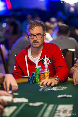 Everyone is chasing Day 1a leader Martin Jacobson - for now