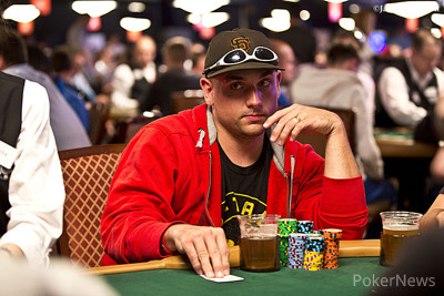 Trey Luxemburger - Day 1b chip leader