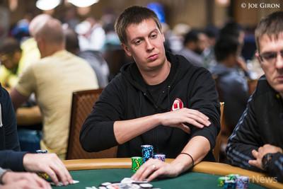 Brent Hanks in earlier WSOP action.