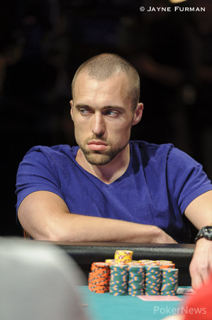 Matthew Haugen holds the lead with 291 players left.
