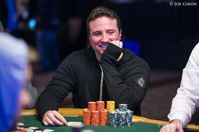Chip Leader Bruno Politano