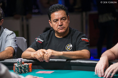 Luis Velador - Chip Leader