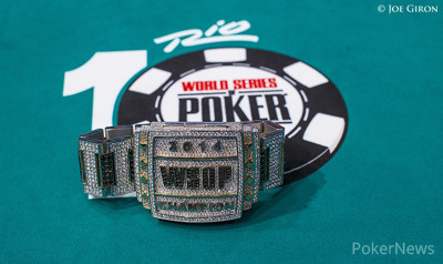 2014 WSOP Main Event Champion Bracelet