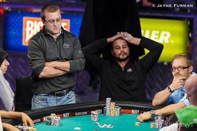 William Tonking doubles through Jacobson