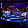 Final hand between Olivier Busquet & Daniel Colman