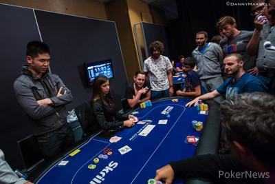 Dong Kim bubbles the PokerStars EPT Barcelona High Roller 2014