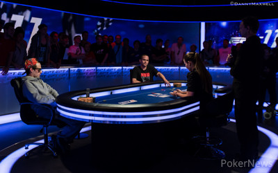 Andre Lettau - Samuel Phillips all in on the first hand of heads up play