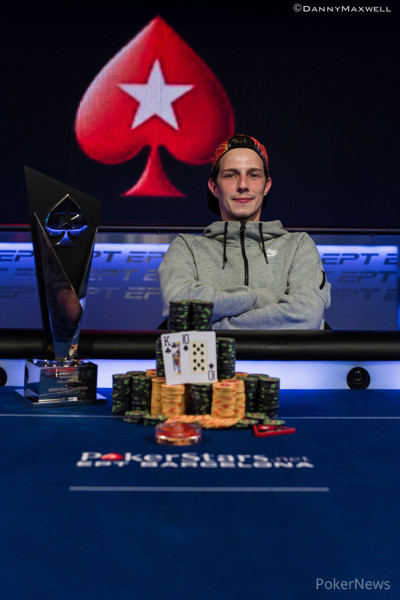 Andre Lettau - PokerStars EPT Barcelona Main Event Winner 2014