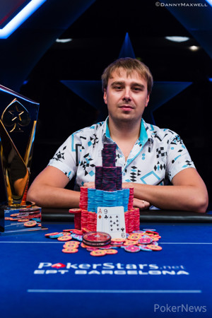 Ihar Soika - PokerStars EPT Barcelona High Roller Winner 2014