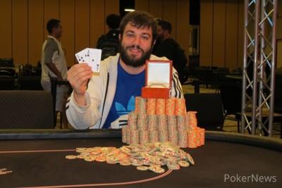 Jason Helder - Winner of the 2014 WinStar River Poker Series Main Event