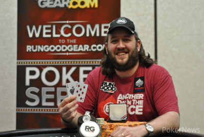Ross Bybee took first as part of a chop.