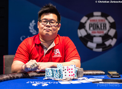 Event 2 Champion Junzhong Loo