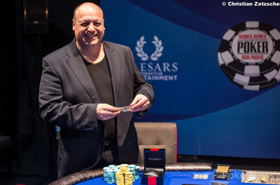 Jeff Lisandro wins bracelet No. 6