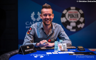 Three-time WSOP bracelet winner George Danzer