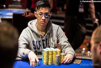 Chip leader Victor Teng