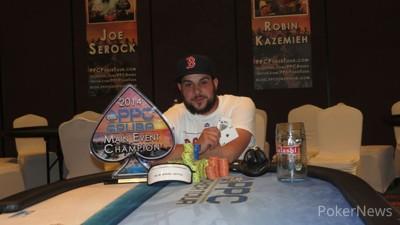 Aristoteles Neto - Winner of 2014 PPC Aruba World Championship Main Event