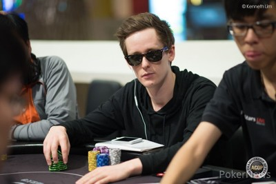 Rory Young - Chip Leader