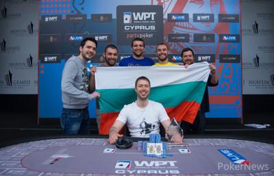 Atanas Kavrakov WPTN Cyprus champion