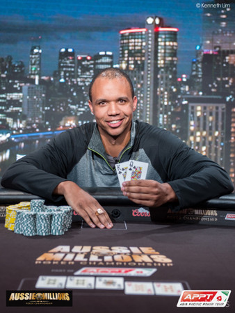 Phil Ivey wins for a third time!