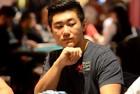 Chip leader, Bryan Huang